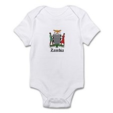 Zambian Coat of Arms Seal Infant Bodysuit