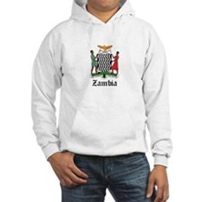 Zambian Coat of Arms Seal Hoodie