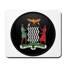 Coat of Arms of Zambia Mousepad
