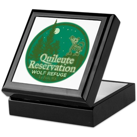 Quileute Wolf Refuge Keepsake Box