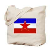 Yugoslavia Flag Tote Bag