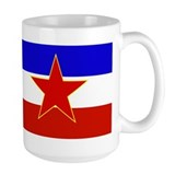 Yugoslavia Flag Coffee Mug