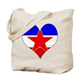I Love Yugoslavia Tote Bag