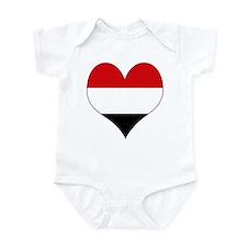 I Love yemen Infant Bodysuit