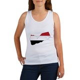 yemen Flag Map Women's Tank Top