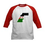 Western Sahara Flag Map Tee