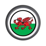 Welsh Island Wall Clock
