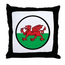 Welsh Island Throw Pillow