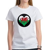 I love Welsh Island Flag Tee
