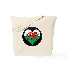 I love Welsh Island Flag Tote Bag