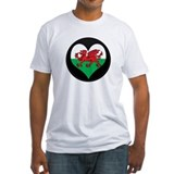 I love Welsh Island Flag Shirt