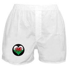I love Welsh Island Flag Boxer Shorts