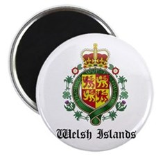 Welsh Coat of Arms Seal Magnet