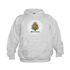Welsh Coat of Arms Seal Hoodie