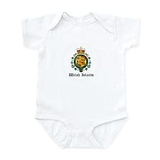 Welsh Coat of Arms Seal Infant Bodysuit