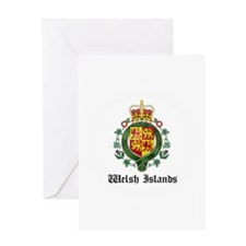 Welsh Coat of Arms Seal Greeting Card