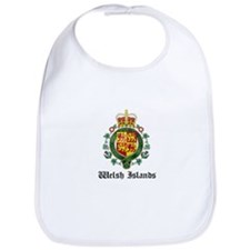 Welsh Coat of Arms Seal Bib