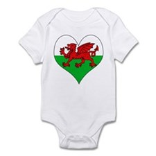 I Love Welsh Island Infant Bodysuit