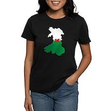 Welsh Island Flag Map Tee