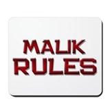 malik rules Mousepad
