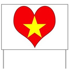 I Love Vietnam Yard Sign