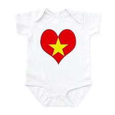 I Love Vietnam Infant Bodysuit