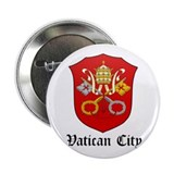 "Vatican Coat of Arms Seal 2.25"" Button"