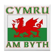 Wales for Ever Tile Coaster