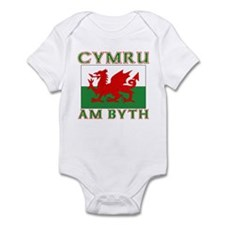 Wales for Ever Infant Bodysuit