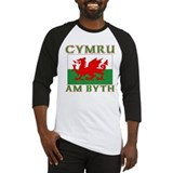 Wales for Ever Baseball Jersey