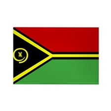 vanuatu Flag Rectangle Magnet (100 pack)