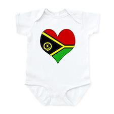 I Love vanuatu Infant Bodysuit