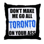 Toronto Baseball Throw Pillow