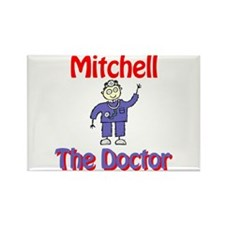 Mitchell - The Doctor Rectangle Magnet