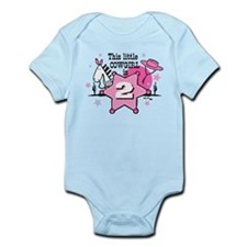 Little Cowgirl 2nd Birthday Infant Bodysuit