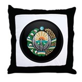 Coat of Arms of Uzbekistan Throw Pillow
