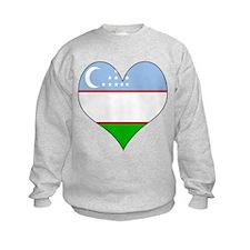 I Love Uzbekistan Sweatshirt