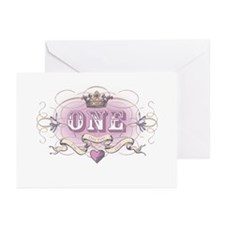 First Birthday Greeting Cards (Pk of 10)