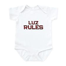 luz rules Infant Bodysuit