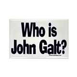 Who is John Galt? Rectangle Magnet (100 pack)