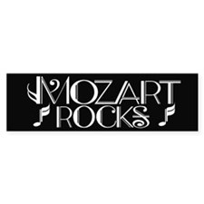 Mozart Rocks Bumper Bumper Sticker