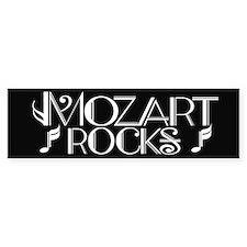 Mozart Rocks Bumper Bumper Sticker