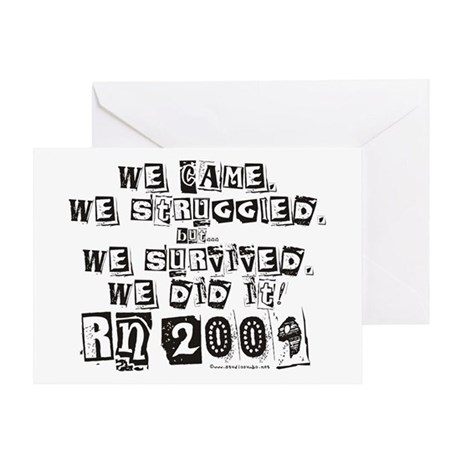 RN Graduate 2009 Greeting Card