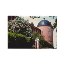 Uppsala Castle Rectangle Magnet (10 pack)