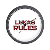 lukas rules Wall Clock