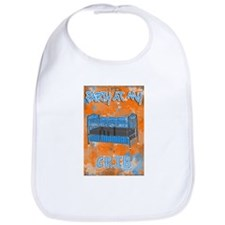 "Boy's ""Party At My Crib"" Bib"