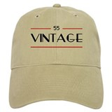 55th Birthday Vintage Cap