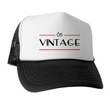 65th Birthday Vintage Trucker Hat