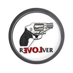 Revolver Wall Clock