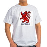 Lion Rampant Ash Grey T-Shirt